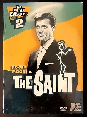 The Saint The Early Episodes  Set 2 DVD  2005  4-Disc Set Roger Moore