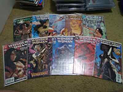 Wonder Woman Adam Hughes Cover Lot Of 10 Different Issues
