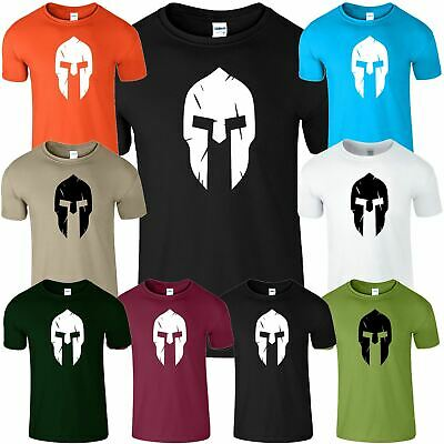 Spartan Gym Mens T-Shirt Bodybuilding Motivation Workout Traning Top T-Shirt