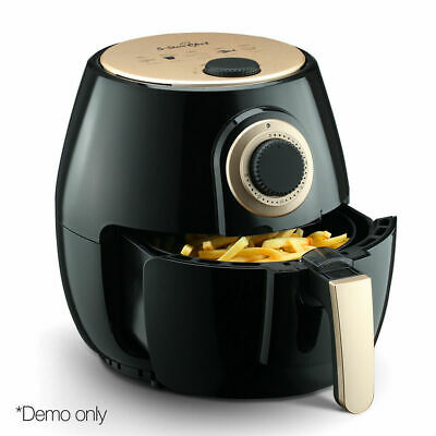 4L Air Fryer Healthy Cooking 5 Star Chef Oil Free Low Fat Food Family Kitchen