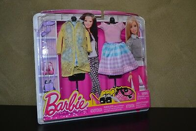 Brand New 2015 Barbie Doll Life In The Dream House Fashion Set