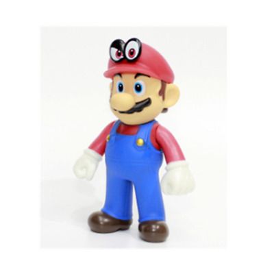 Super mario bros brothers Odyssey red cappy 12cm 5' figure gift figures