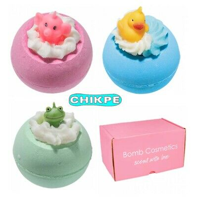 Toy Bath Bombs by Bomb Cosmetics - 160g tennis ball size