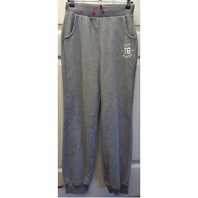Girls Decathlon Grey Tracksuit Bottoms Joggers Dept 76 Domyos 14 Years