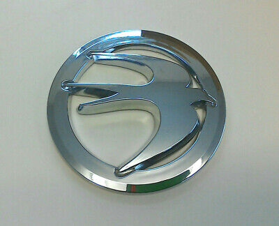 Swift chrome finish circular bird badge for caravan motorhome dent cover SRB6U