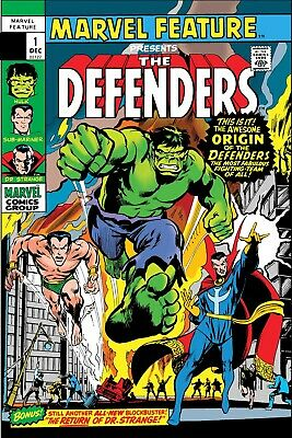 Defenders Marvel Feature #1 Facsimile Edition PREORDER - SHIPS 08/05/19