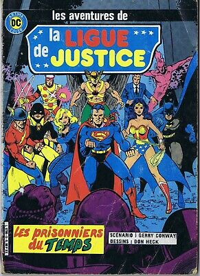 La ligue de justice n°8 Artima DC 01/1984 Superman Green Lantern