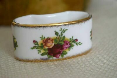 Royal Albert Old Country Roses  One  Napkin Ring  England