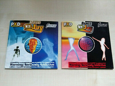 DANCE EJAY 1 & Rave eJay 1 Fastrack Software PXD Musicsoft PC Music Software