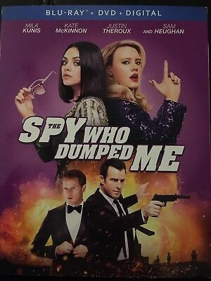 THE SPY WHO DUMPED ME (Blu Ray ONLY) Includes Slip Cover