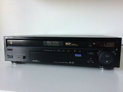NEUF ! SONY CD CDV LD PLAYER MDP-650D / PAL NTSC /  HIGH END Laserdisc Player !!
