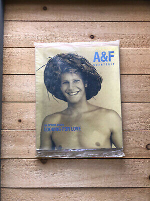 A & F Quarterly Abercrombie & Fitch Spring Break 1998 Looking for Love SEALED
