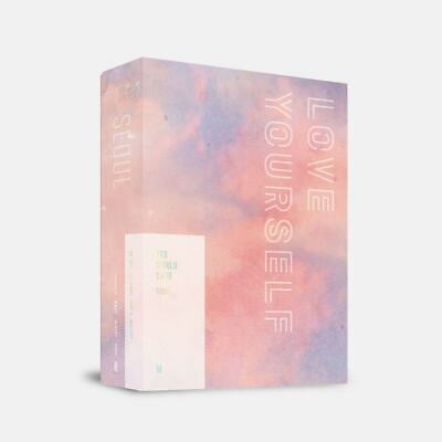 [Pre-Order] BTS Love Yourself Tour in Seoul DVD w/o Photocard + BTS photo GIFT