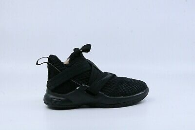 889ba2ea7b7 NIKE LITTLE KIDS LeBron Soldier 12 Black US12.5c AA1353-003 -  55.00 ...