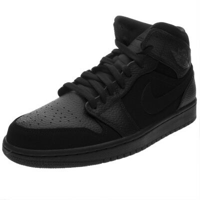 new product e5db9 ebc88 Scarpe Nike Air Jordan 1 Mid Taglia 42.5 554724-064 Nero
