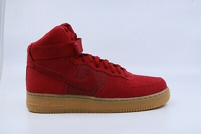 Nike Men's Air Force 1 High '07 LV8 Red US10.5 806403-601