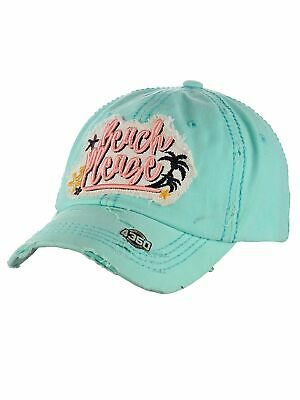 Ceci® Womens Baseball Cap Distressed Vintage Unconstructed Embroidered Dad  Hat 0eb60a78b76e