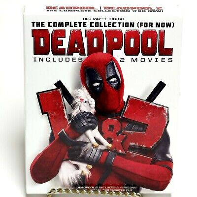 Deadpool The Complete Collection (For Now) 2 Blu-Ray Disc Movie Box Set