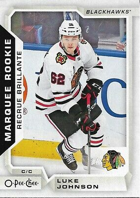 Luke Johnson #631 - 2018-19 O-Pee-Chee - Marquee Rookie Update