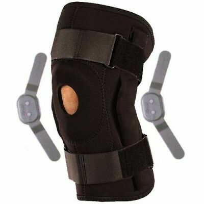 Neoprene Adjustable Hinged Stays Medical Wrap Open Knee Patella Brace Support UK