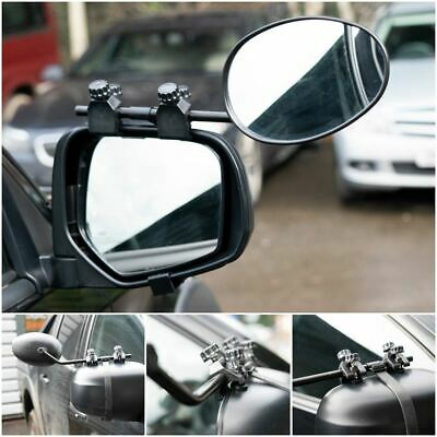 Convex Caravan Car Extension Towing Mirror fits Land Rover