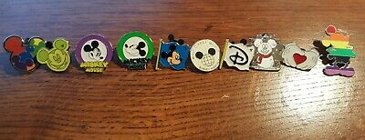 10 Piece Mickey Mouse Disney Trading Pin Lot