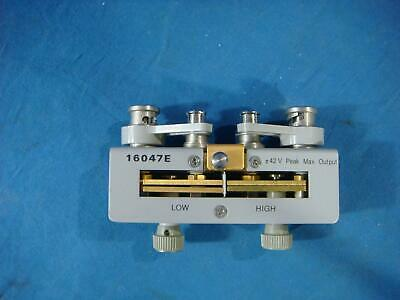 Agilent 16047E Axial and Radial Test Fixture, 110 MHz