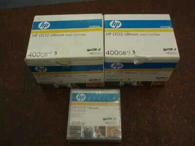 Bulk HP C7972A 400GB Data cartridges (new)