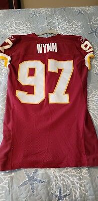 2016 DESEAN JACKSON Washington Redskins Game Used Worn Nike Football ... b3fff4535cb