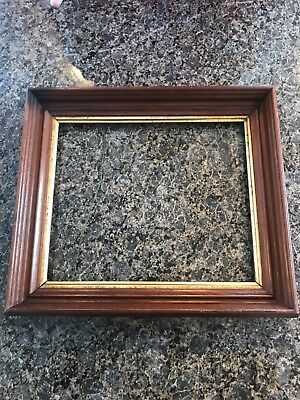 """Victorian Style Antique 10"""" x 12"""" Picture Frame Stunning Hand Carved Shadow Box"""