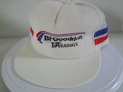 753f567b89707e Vintage BF Goodrich T A Radials Snapback Hat Cap USA Made 1980s Swingster