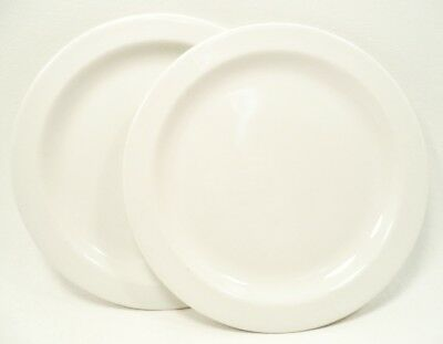 """STONEHENGE WHITE by Midwinter Set(s) of 2 Bread & Butter / Dessert Plates7"""""""