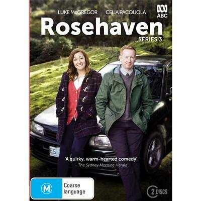 BRAND NEW Rosehaven : Series 3 (DVD, 2019, 2-Disc Set) *PREORDER R4 ABC Pacquola