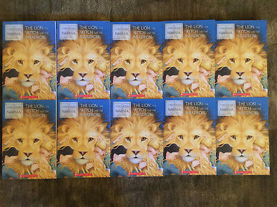 Set 10 New PB Books - The Lion, Witch, & the Wardrobe CS Lewis Chronicles Narnia