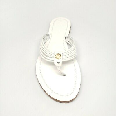 4a68e9add6b TORY BURCH  SIENNA  Thong Sandal in Perfect White Women s Size 8 ...