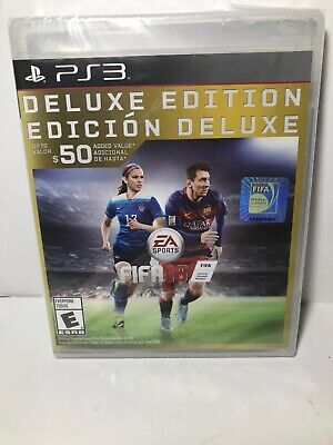 Brand New Factory Sealed PS3 FIFA 16 DELUXE EDITION SHIP FREE US FAST READ DESC
