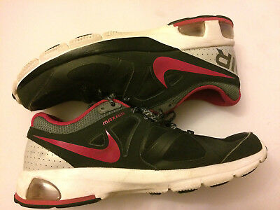 sale retailer 90bcf 529ec Nike Air Max Run Lite 4 Women s Sz 10 Black Pink Plum Running Shoes 554894-