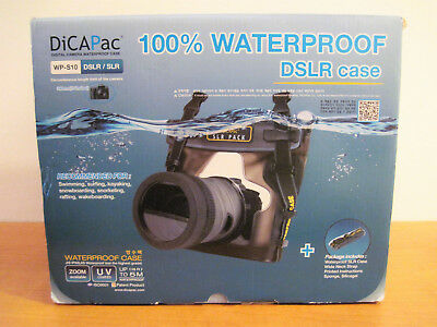 Dicapac WP-S10 WATERPROOF Underwater CASE FOR CANON DSLR EOS 1V 3 7D 20D 50D