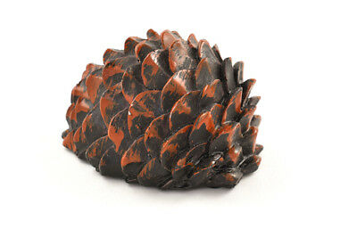 Fake Pine Cone Devious Geocache Container for Geocaching with 1 free log