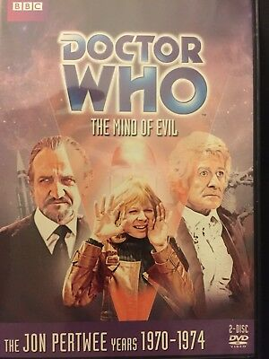 Doctor Who: The Mind of Evil (Story 56)  DVD Jon Pertwee  - R1