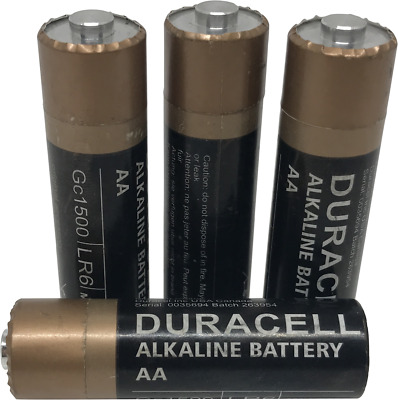 Fake Battery Geocache Container with Free Waterproof Log