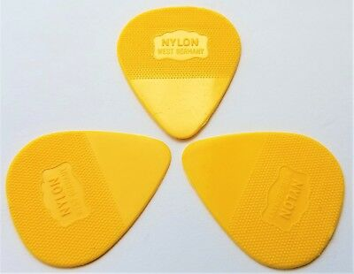 Herdim guitar picks  U2s Edge guitar Pick Yellow 3 picks