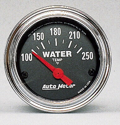 AutoMeter 2532 Traditional Gauge Water Temperature