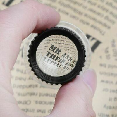 Pro 15X Mini Monocular Magnifying Glass Loupe Lens Jeweler Tool Eye Magnifier