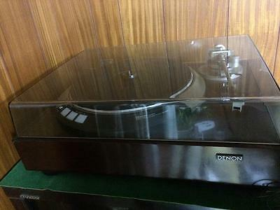 DENON Quartz DIRECT DRIVE RECORD PLAYER DP-60M  JAPAN