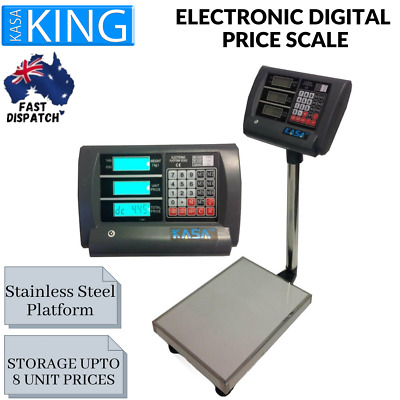 Computing Price Scale Weight Shop Postal Industrial 150 KG Electronic Digital