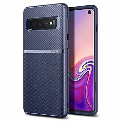 Samsung Galaxy S10 Plus Case TPU Shockproof Anti Scratch Lightweight Navy Blue