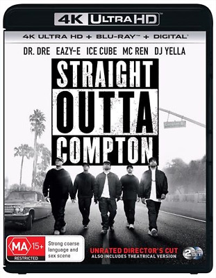 Straight Outta Compton 4K Ultra HD : NEW UHD Blu-Ray