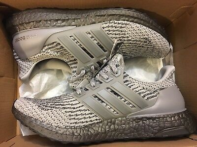 aeefe22509d56 New Adidas Ultra Boost 3.0 Triple Grey Ultraboost Running Shoe Cg3041 Men  Sz 7.5