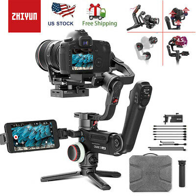 In Stock-Zhiyun Crane 3 LAB 3-Axis Handheld Stabilizer Gimbal for DSLR Camera